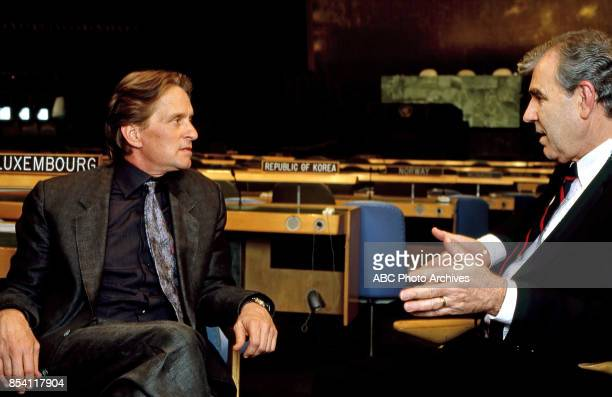 Michael Douglas at United Nations on 'Where It's At The Rolling Stone State of the Union'