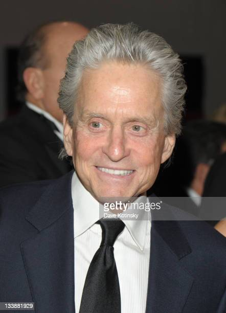 Michael Douglas attend the 2011 Children of Chernobyl's Children at Heart gala at the Chelsea Piers on November 21 2011 in New York City