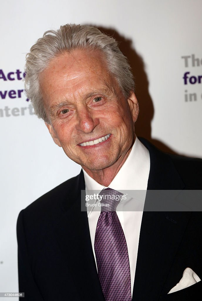 Michael Douglas attends The 2015 Actors Fund Gala at The New York Marriott Marquis on May 11, 2015 in New York City.