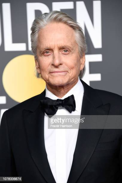 Michael Douglas attends the 76th Annual Golden Globe Awards at The Beverly Hilton Hotel on January 6, 2019 in Beverly Hills, California.