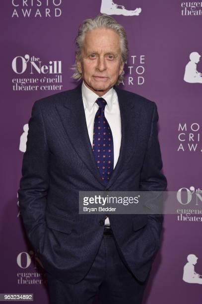 Michael Douglas attends The Eugene O'Neill Theater Center's 18th Annual Monte Cristo Award Honoring LinManuel Miranda at Edison Ballroom on April 30...