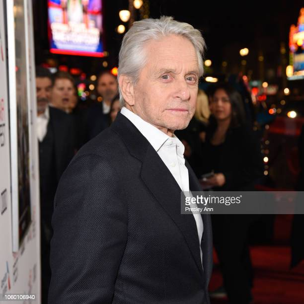 "Michael Douglas attends the Gala Screening of ""The Kominsky Method"" at AFI FEST 2018 Presented By Audi at TCL Chinese Theatre on November 10, 2018 in..."