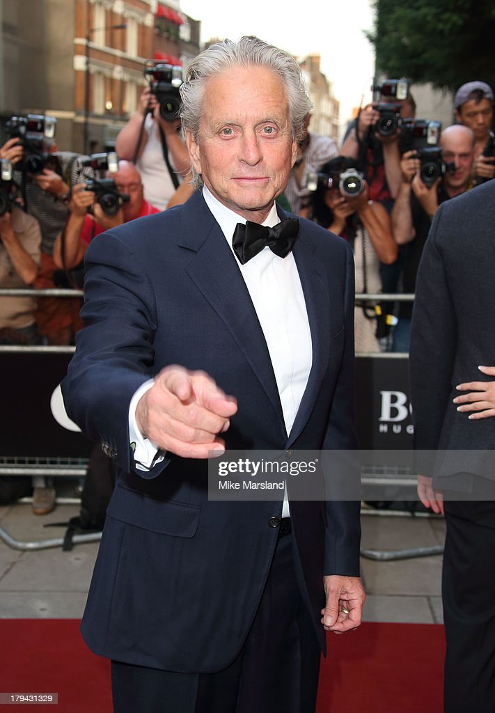 Michael Douglas attends the GQ Men of the Year awards at The Royal Opera House on September 3, 2013 in London, England.