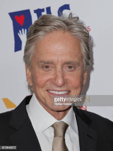 Michael Douglas attends the Los Angeles Mission Legacy of Vision Gala at Four Seasons Hotel Los Angeles at Beverly Hills on November 9 2017 in Los...