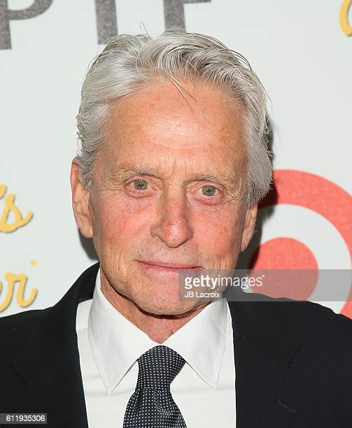 Michael Douglas attends the MPTF 95th anniversary celebration with 'Hollywood's Night Under The Stars' at MPTF Wasserman Campus on October 1 2016 in...