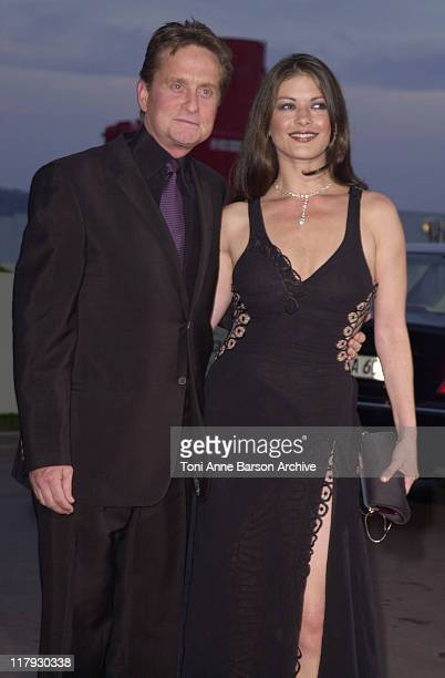Michael Douglas Catherine ZetaJones during Laureus World Sports Awards Dinner and Silent Auction Arrivals at Monte Carlo Sporting Club in Monte Carlo...
