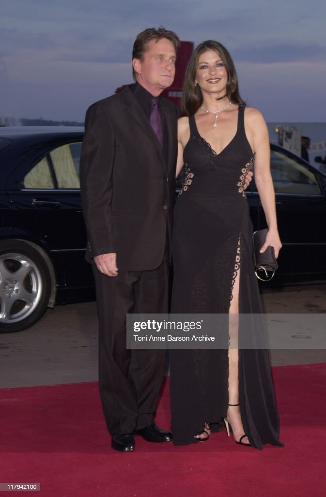 Michael Douglas & Catherine Zeta-Jones during Laureus World Sports Awards Dinner and Silent Auction - Arrivals at Monte Carlo Sporting Club in Monte Carlo, Monaco.