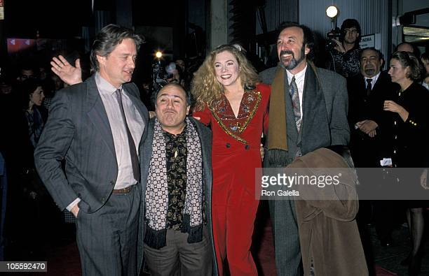 Michael Douglas Danny DeVito Kathleen Turner and James Brooks
