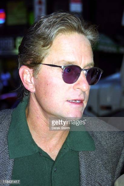 Michael Douglas during Michael Douglas Appears on the 'Today Show' September 5 1997 at Rockefeller Center in New York City New York United States