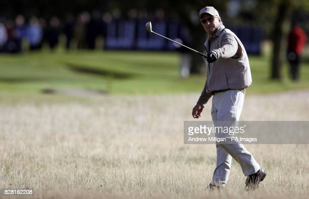 Michael Douglas during round one of the Dunhill Links Championships at Carnoustie Thursday September 29 2005 PRESS ASSOCIATION Photo Photo credit...
