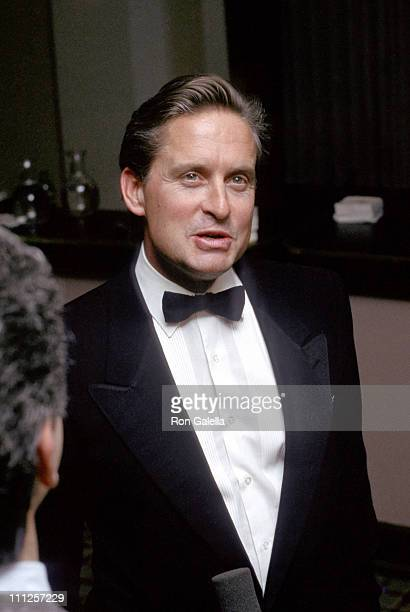 Michael Douglas during The American Academy of Dramatic Arts Tribute to Kirk Douglas at Waldorf Astoria Hotel in New York City New York United States