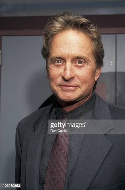 Michael Douglas during 'The Game' New York Premiere at Sony 19th Street East Theater in New York City New York United States