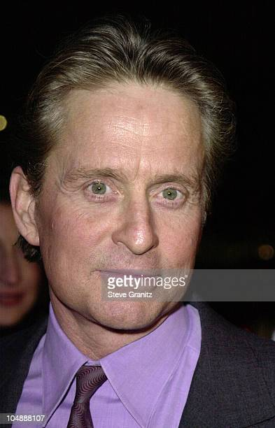 Michael Douglas during 'Traffic' Los Angeles Premiere at The Academy in Beverly Hills California United States