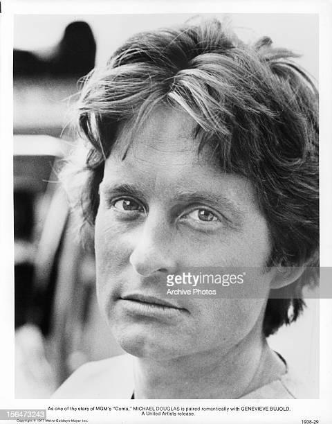 Michael Douglas publicity portrait for the film 'Coma' 1978