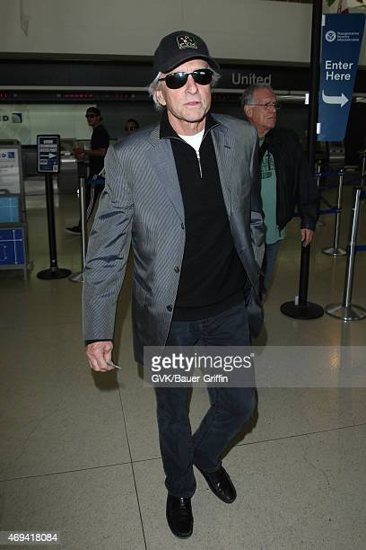 Michael Douglas seen at LAX on April 11 2015 in Los Angeles California