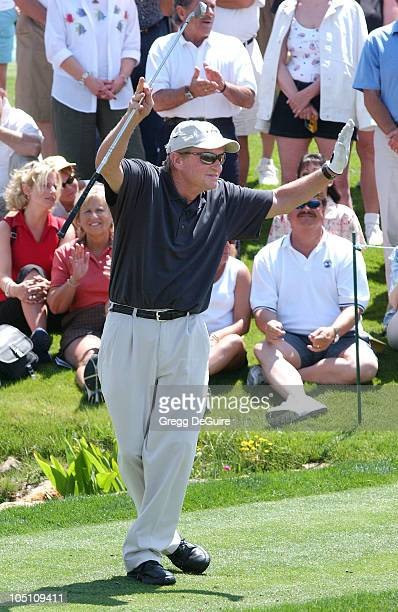Michael Douglas wearing Izod during 5th Annual Michael Douglas And Friends Celebrity Golf Tournament Presented By Lexus and Izod To Benefit The...