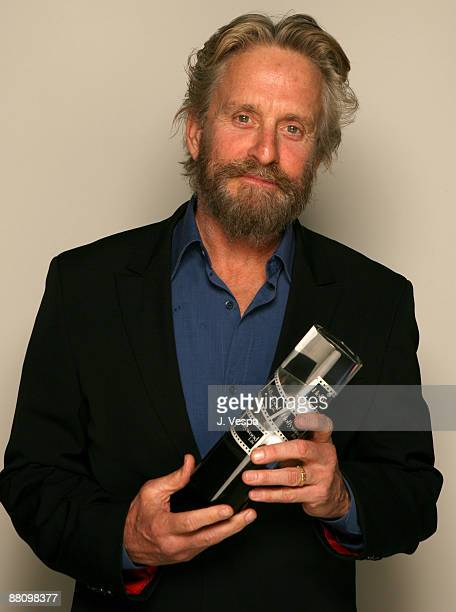 Michael Douglas winner of Young Hollywood's Role Model *EXCLUSIVE*