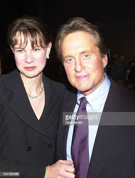 Michael Douglas With Lady Who Bought Traffic T Shirt That He Signed And She Got A Kiss As Wel Marie And Eddie Jordan Hosted The Clic Charity Auction...