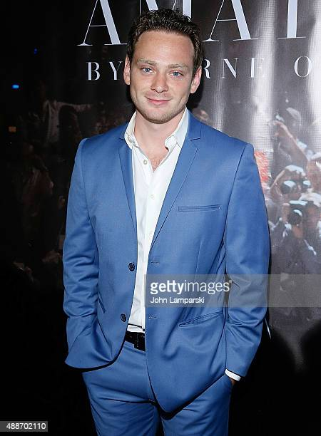 Michael Drayer attends 'Inside Amato' New York premiere at Liberty Theater on September 16 2015 in New York City