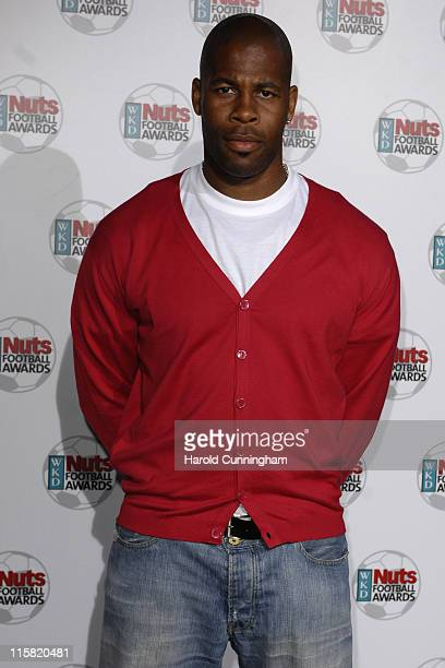 Michael Duberry during Nuts Magazine WKD Football Awards Arrivals at Ministry of Sound in London Great Britain