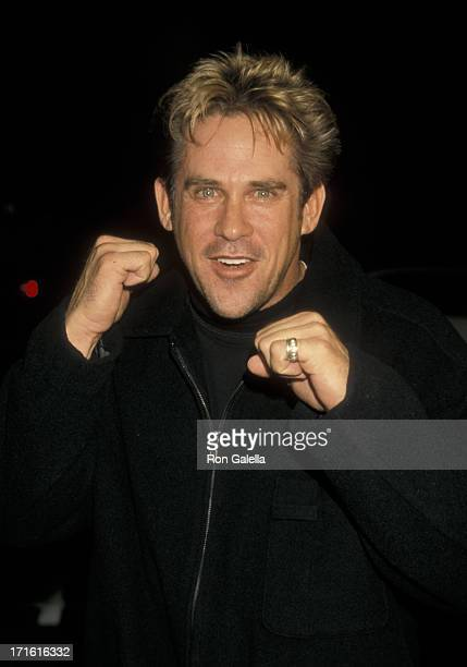 Michael Dudikoff attends the world premiere of 'Ringmaster' on November 12 1998 at the Cinerama Dome Theater in Hollywood California