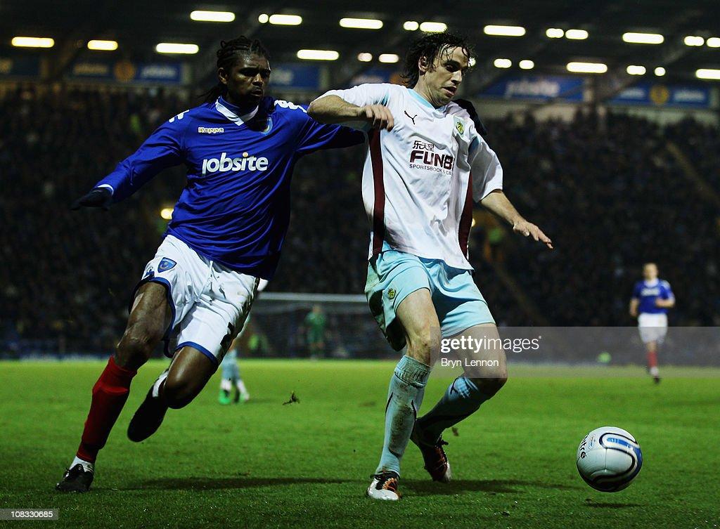 Portsmouth v Burnley - npower Championship