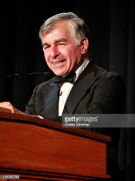 Michael Dukakis attends the 2011 Gabby Awards at Ellis Island on June 4 2011 in New York City