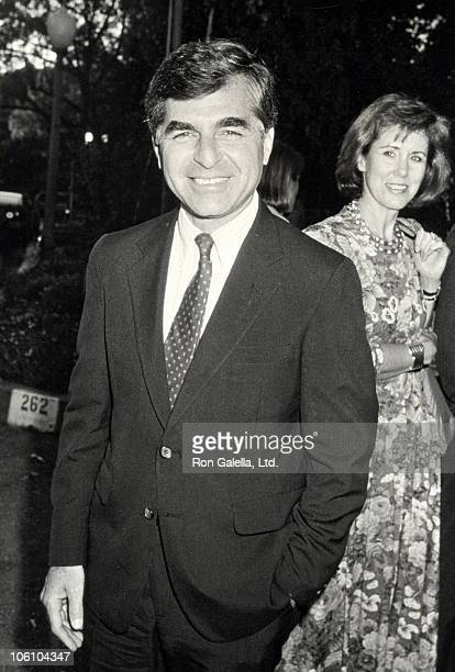Michael Dukakis during Fundraiser for Michael Dukakis at Home of Sally Field in Los Angeles California United States