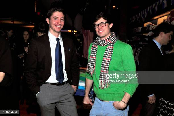 Michael Dunham and Scott Young attend WHITNEY BIENNIAL Preview After Party at Tommy Hilfiger on February 23, 2010 in New York City.