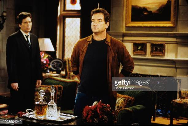 """Michael E. Knight and John Callahan in a scene airing the week of Sept. 2, 2002 on ABC Daytime's """"All My Children"""". """"All My Children"""" airs..."""
