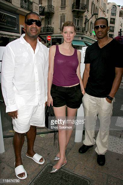 Michael E. Misick, Andrea Harrison and Duane Martin