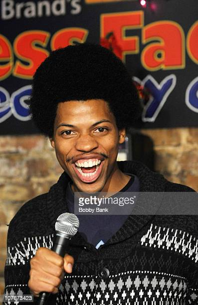 Michael E. Winfield performs at The Stress Factory Comedy Club on December 17, 2010 in New Brunswick, New Jersey.