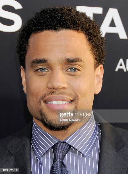 Michael Ealy arrives at the World Premiere of Takers at the ArcLight Cinerama Dome on August 4 2010 in Hollywood California