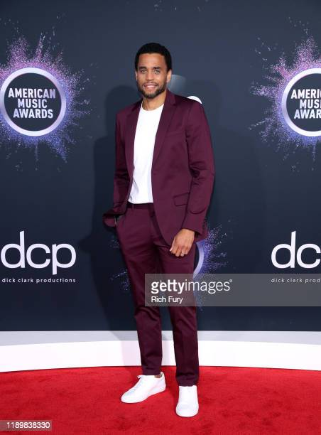 Michael Ealy attends the 2019 American Music Awards at Microsoft Theater on November 24 2019 in Los Angeles California