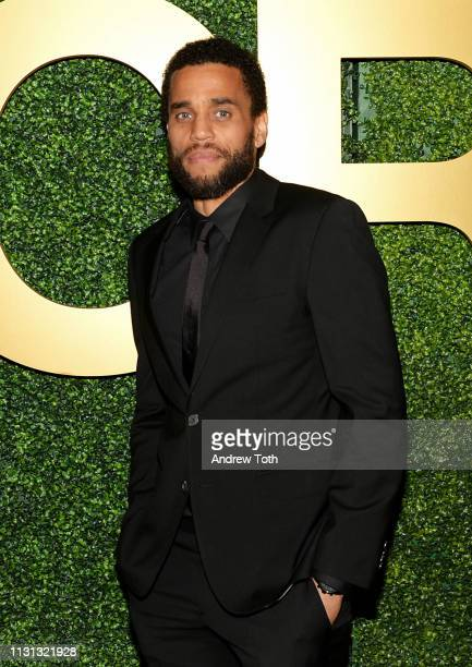 Michael Ealy attends the MACRO PreOscar Party 2019 at Casita Hollywood on February 21 2019 in Los Angeles California