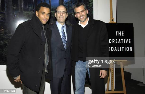 Michael Ealy Matt Blank Chief Executive Officer of Showtime and Oded Fehr