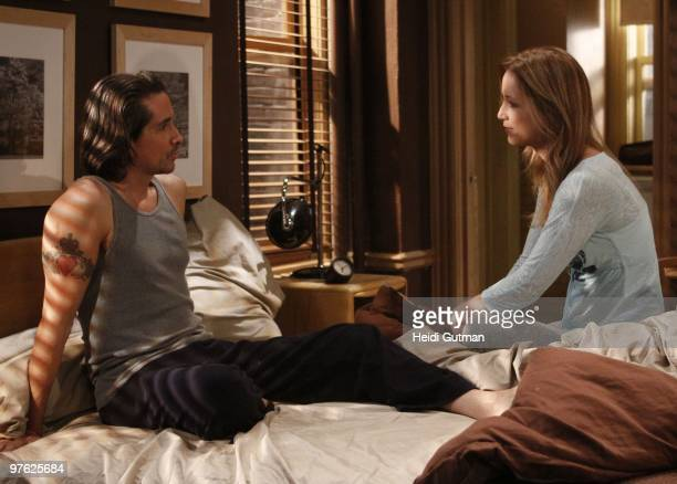 LIVE Michael Easton and Susan Haskell in a scene that airs the week of March 1 2010 on ABC Daytime's 'One Life to Live' 'One Life to Live' airs...