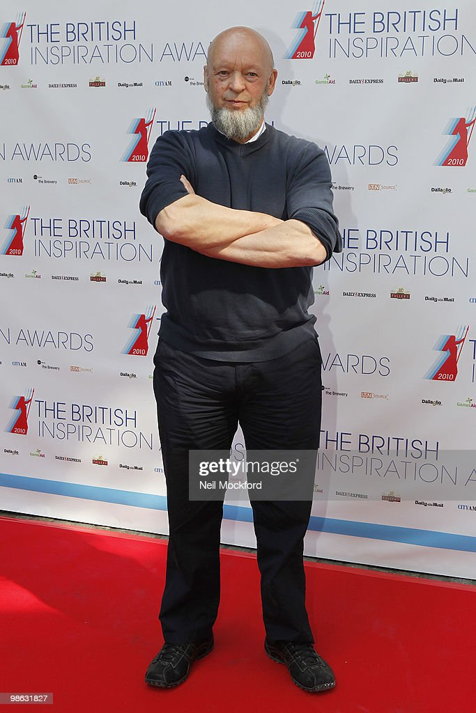 Michael Eavis arrives for The British Inspiration Awards on April 23, 2010 in London, England.