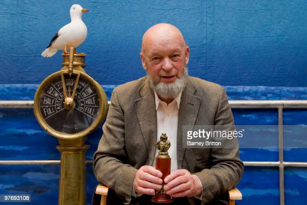 Michael Eavis pictured at the International Live Music Conference with his award for 'Liggers Favourite Festival' at Royal Garden Hotel on March 14...