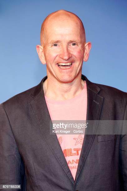 Michael Edwards arrives at the 'Eddie the Eagle' premiere in Munich Germany on March 20 2016 EDITORS NOTE Image has been digitally retouched