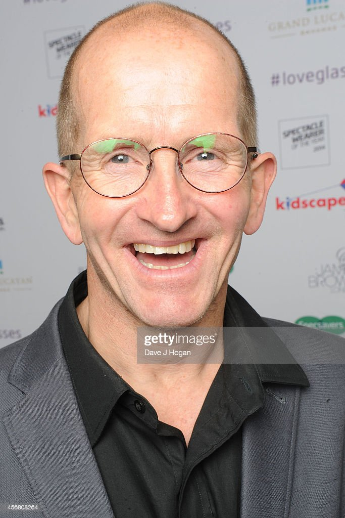 Michael Edwards 'Eddie The Eagle' attends the Spectacle Wearer Of the year Awards at 8 Northumberland Avenue on October 7, 2014 in London, England.