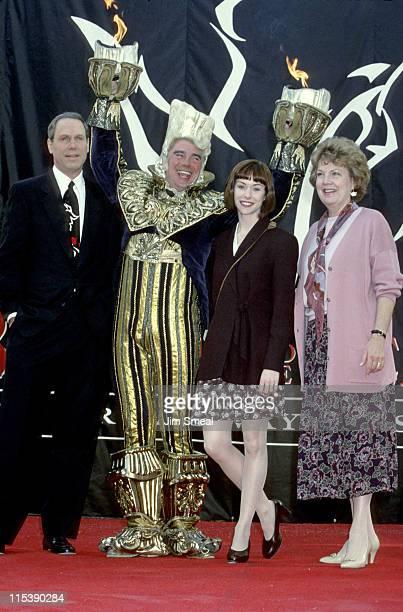 Michael Eisner Gary Beach Beth Fowler and Susan Egan