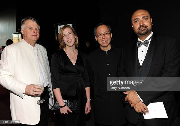 Michael Elliot Jessica WintersTIME News Director Howard Chua and TIME Deputy International Editor Bobby Ghosh attend the TIME 100 Gala TIME'S 100...
