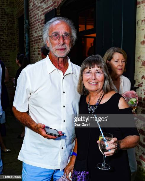 Michael Elsas and Jackie Elsas attend A Country House Gathering To Benefit Preservation Long Island on June 28 2019 in Locust Valley New York
