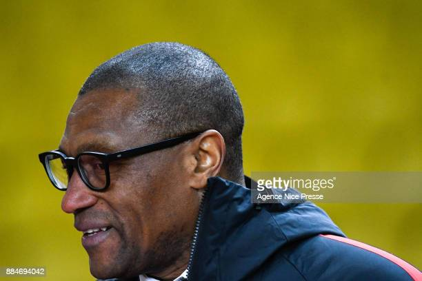 Michael Emenalo new sporting director of Monaco during the Ligue 1 match between AS Monaco and Angers SCO at Stade Louis II on December 2 2017 in...