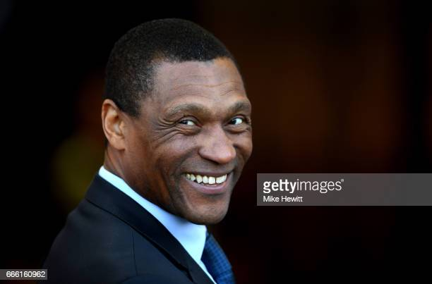 Michael Emenalo Technical director at Chelsea is seen prior to the Premier League match between AFC Bournemouth and Chelsea at Vitality Stadium on...