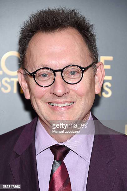 Michael Emerson attends the Florence Foster Jenkins New York premiere at AMC Loews Lincoln Square 13 theater on August 9 2016 in New York City