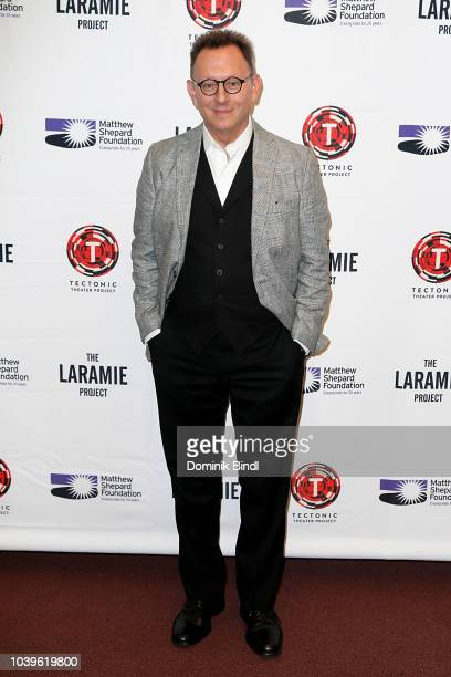 Michael Emerson during the Laramie A Legacy A Reading Of The Laramie Project at Gerald W Lynch Theater on September 24 2018 in New York City