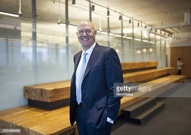 Michael Emory chief executive officer of Allied Properties Real Estate Investment Trust stands for a photograph at the company's office in Toronto...