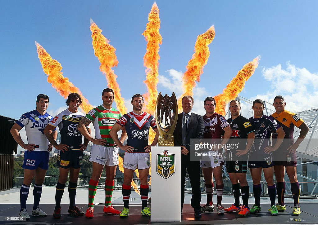 2014 NRL Finals Series Launch : News Photo